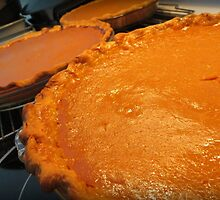 Three Pumpkin Pies Are Better Than One by AuntDot