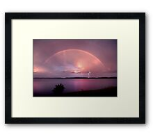 Departing Storm Framed Print
