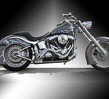 Custom Harley Davidson 'Studio' 1 by DaveKoontz