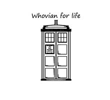 Whovian for life by MsMaroon