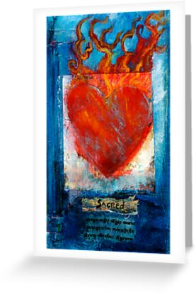 Sacred Sanskrit Heart by Antaratma Images