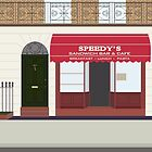 Speedy's Cafe by fangirlshirts