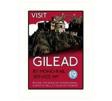 Visit Gilead (The Dark Tower) Art Print