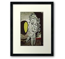 esso gurl freestyle Framed Print