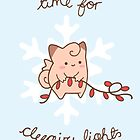 Clefairy Christmas by Steph Hodges