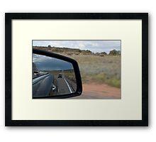 String of Cars Framed Print