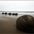 Moeraki Boulders by tonilouise
