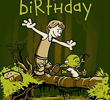 Training We Are - Birthday card by DJKopet