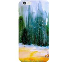 Over The Snow... iPhone Case/Skin