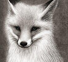 Inari the Fox by Mariya Olshevska