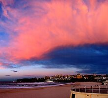 Sunrise over Bondi Beach by Craig Shadbolt
