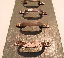 A ladder of handles by Jessica Nothdurft