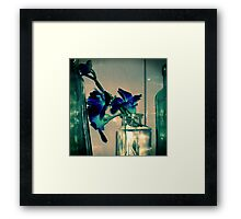 Vintage Blue Framed Print