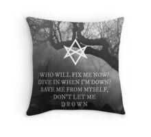 Bring Me the Horizon Drown Print Throw Pillow
