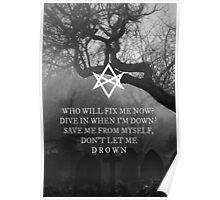 Bring Me the Horizon Drown Print Poster