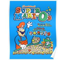 Super Mari-O's - Breakfast of Superstars!! Poster