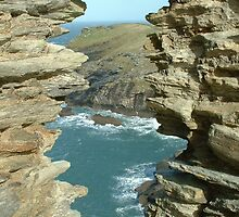 Tintagel Ocean View by Mark Wilson