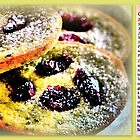 Green Tea Cookies with Cranberries by ©The Creative  Minds
