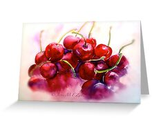 Cherries...Ripe Greeting Card