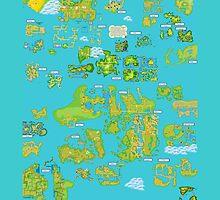 World Map by SecretNinja