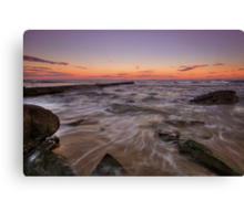 Bar Beach at Dusk Canvas Print