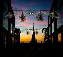 Christmas in Birmingham - Bullring Light by Tim Cornbill