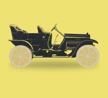 Oldtimer / Historic Car with lemon wheels Kids Clothes