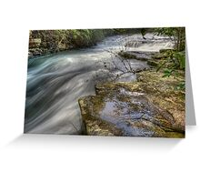 Turbulence and Tranquility Greeting Card