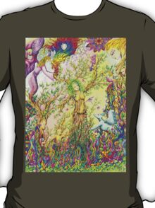 Tree woman, we all come from the Earth T-Shirt