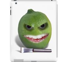 Beware the Lime with the Lemon Zester iPad Case/Skin