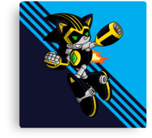 Shard the Metal Sonic Canvas Print