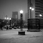 Christmas in Birmingham - Centenary Square by Tim Cornbill