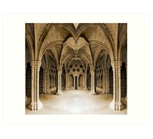 Arched Art Print
