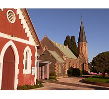 St Andrew's Uniting Church - Bacchus Marsh Photographic Print