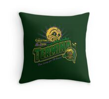 Greetings from Termina! Throw Pillow