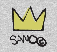 Basquiat SAMO Crown by TeaLeaves