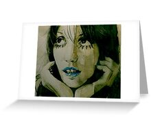 Sweet Painted Lady Greeting Card