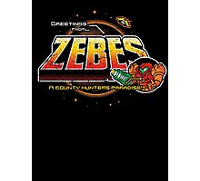 Greetings from Zebes! Photographic Print