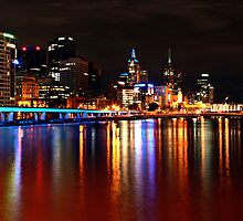 Yarra River Melbourne by Steven  Sandner