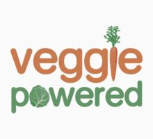 Veggie Vegetable Powered Vegetarian by TheShirtYurt