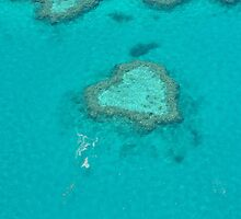 Heart Reef by Steve plowman