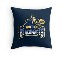 Fantasy League Black Mages Throw Pillow