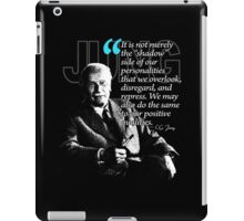 A Quote from Carl Gustav Jung Quote #48 of 50 available iPad Case/Skin