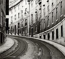 Lisbon street by Zisis