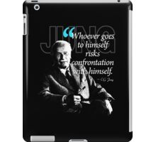 A Quote from Carl Gustav Jung Quote #50 of 50 available iPad Case/Skin