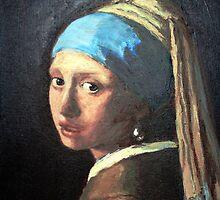 Vermeer's Girl by karolina