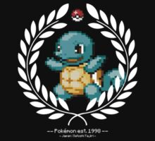 Squirtle 8-bit by gnarw0lves