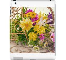 Last Of Summer In Tipped Basket  iPad Case/Skin