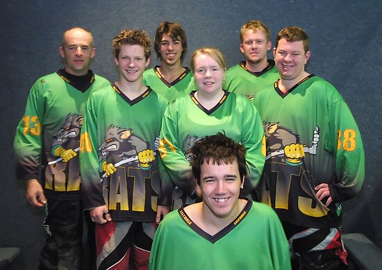 Senior B team Winter 2007 season by Lilydale Rats Inline Hockey Club