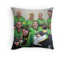 Senior C (Green) team Winter 2007 season Throw Pillow
